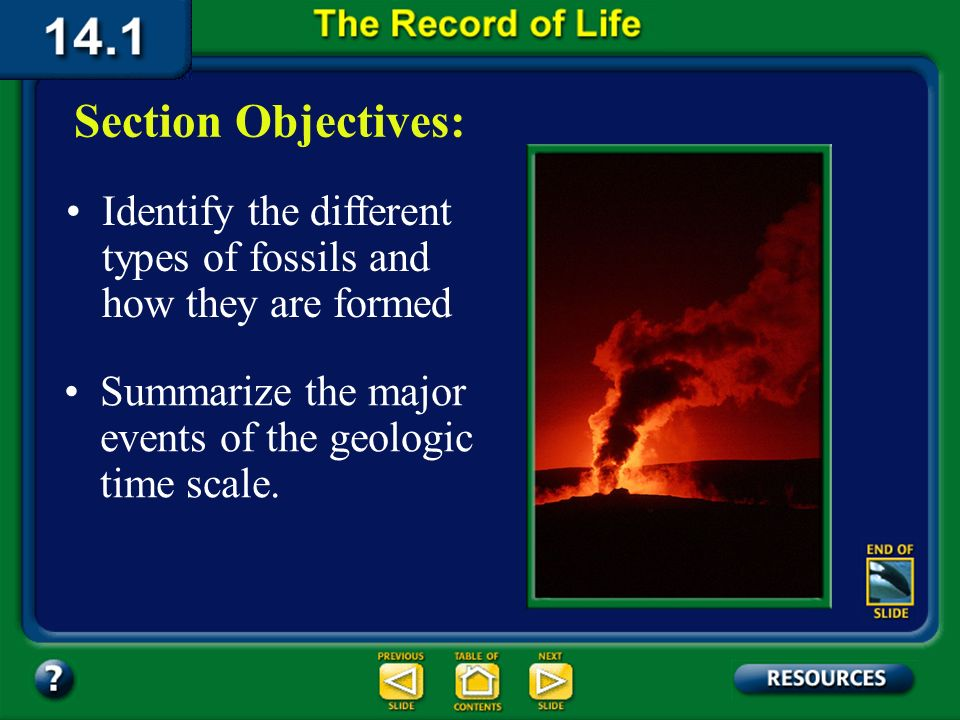 14.1 Section Objectives – page 369