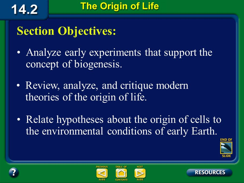 14.2 Section Objectives – page 380