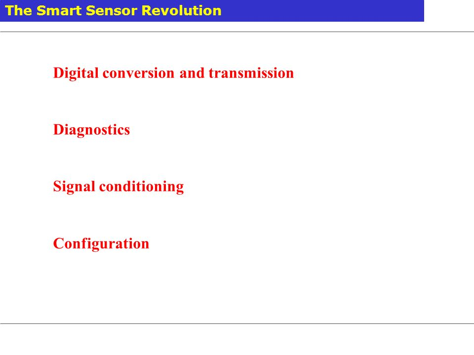 Digital conversion and transmission