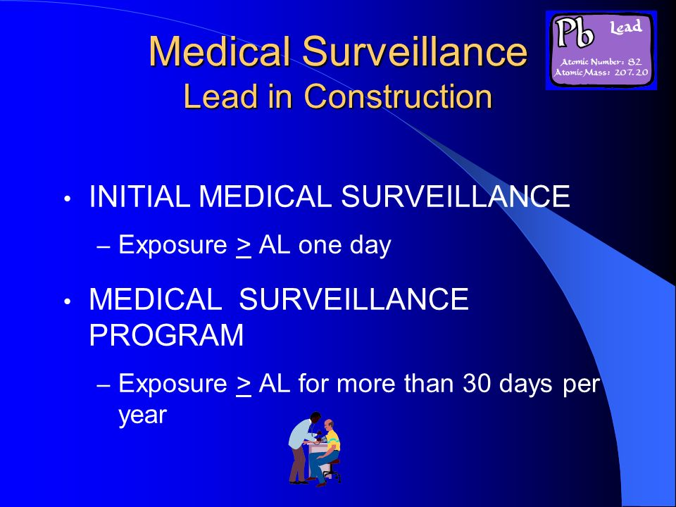Medical Surveillance Lead in Construction