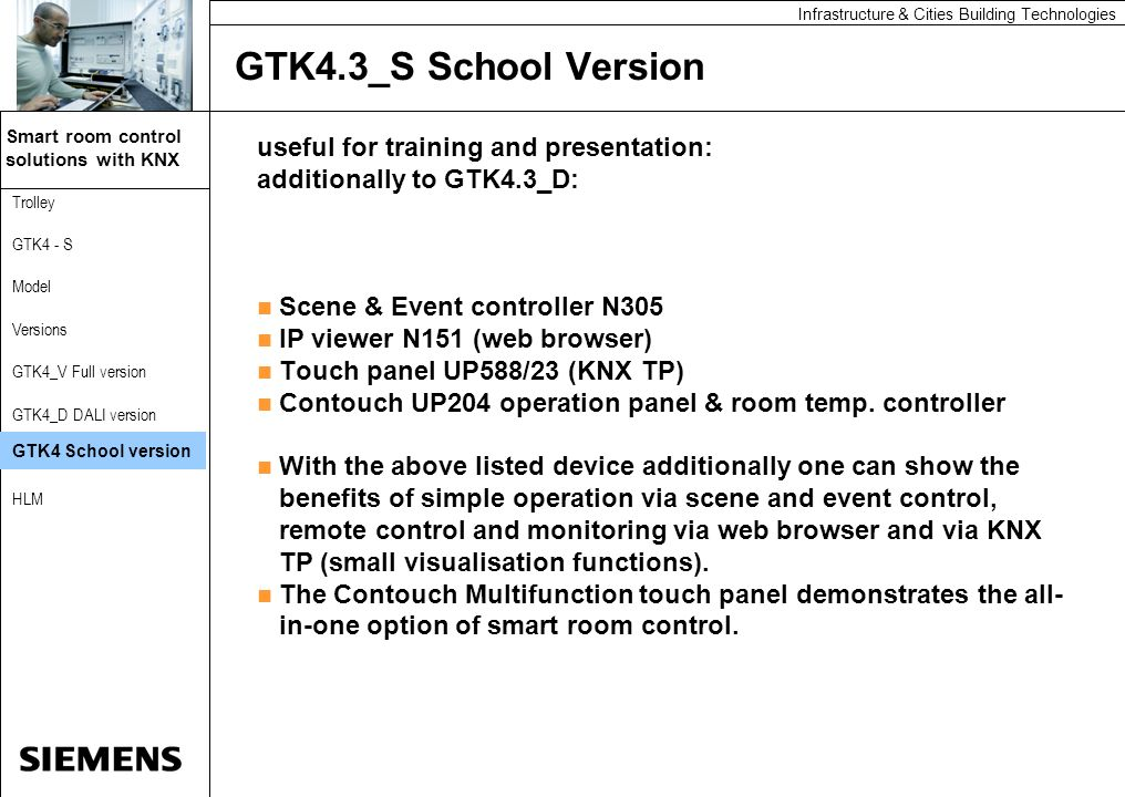 GTK4.3_S School Version useful for training and presentation: