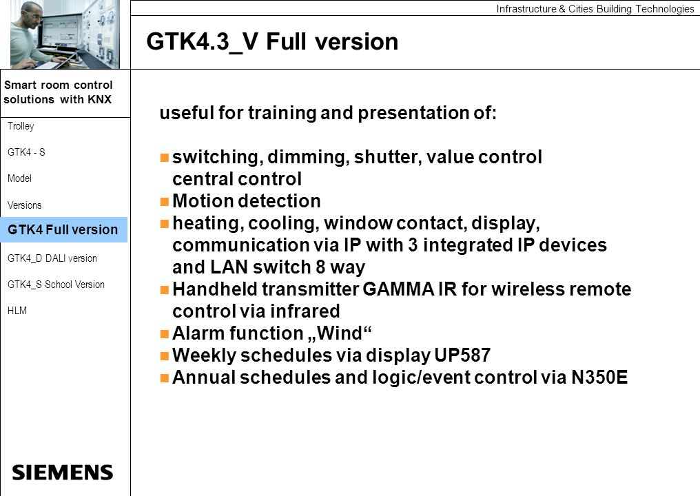 GTK4.3_V Full version useful for training and presentation of:
