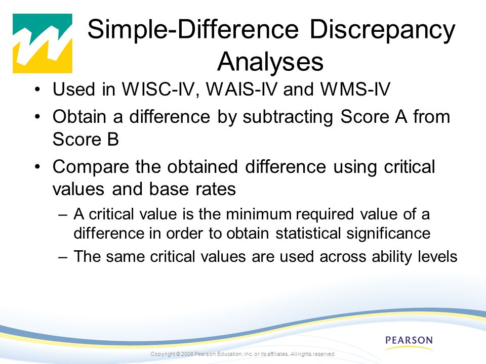 Simple-Difference Discrepancy Analyses