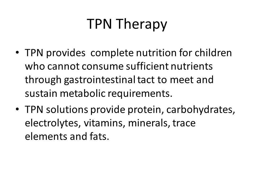 TPN Therapy