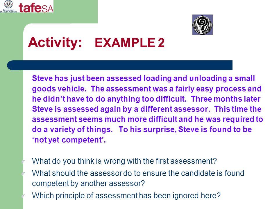 Activity: EXAMPLE 2