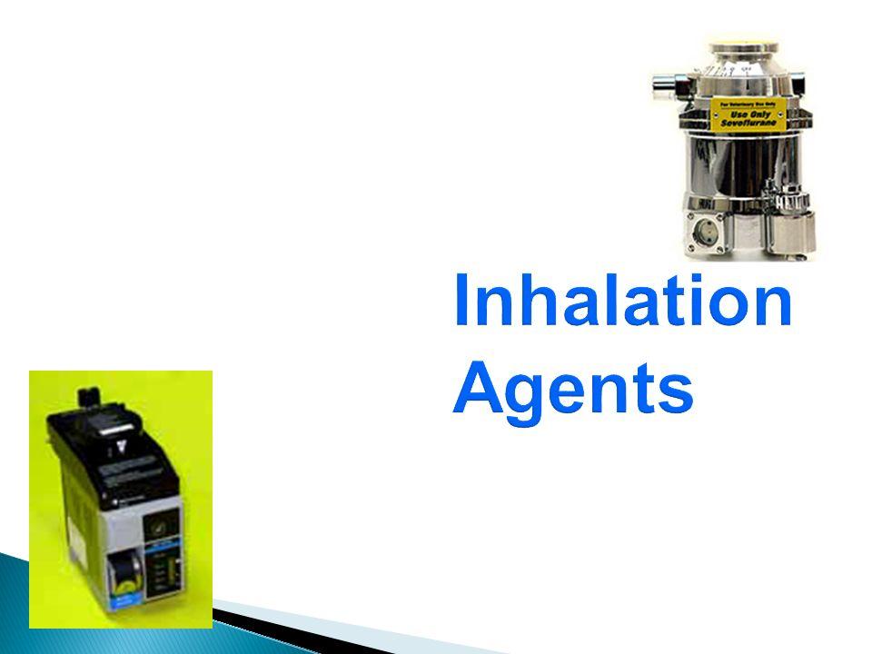 Inhalation Agents 27