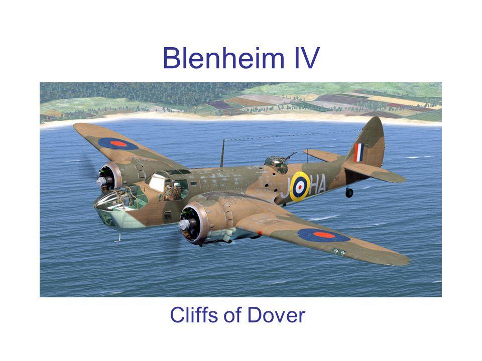 Blenheim IV Cliffs of Dover