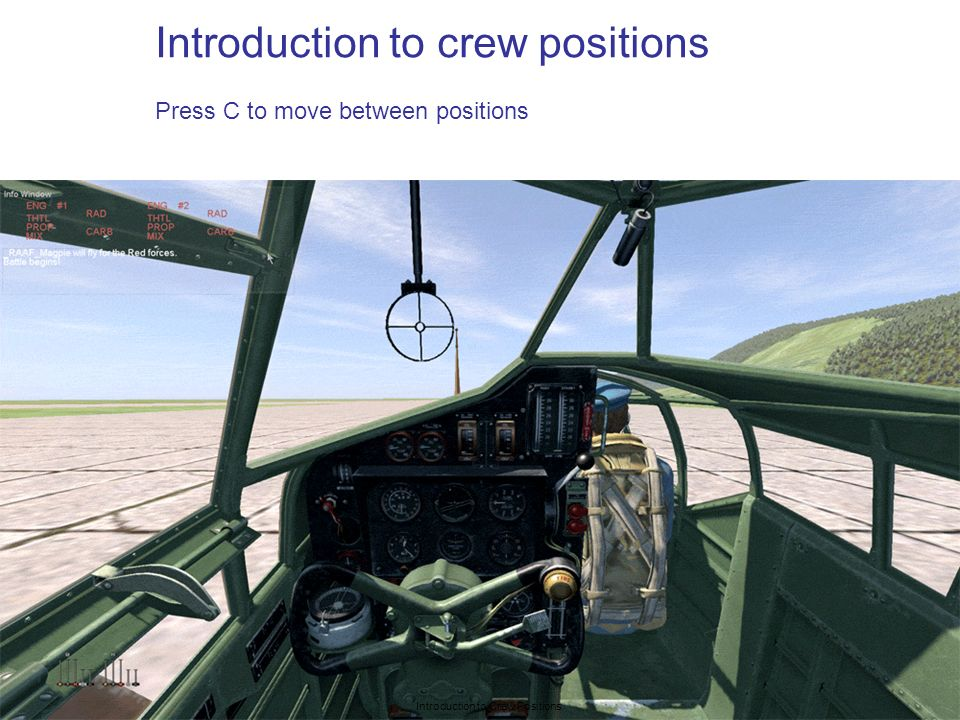 Introduction to Crew Positions