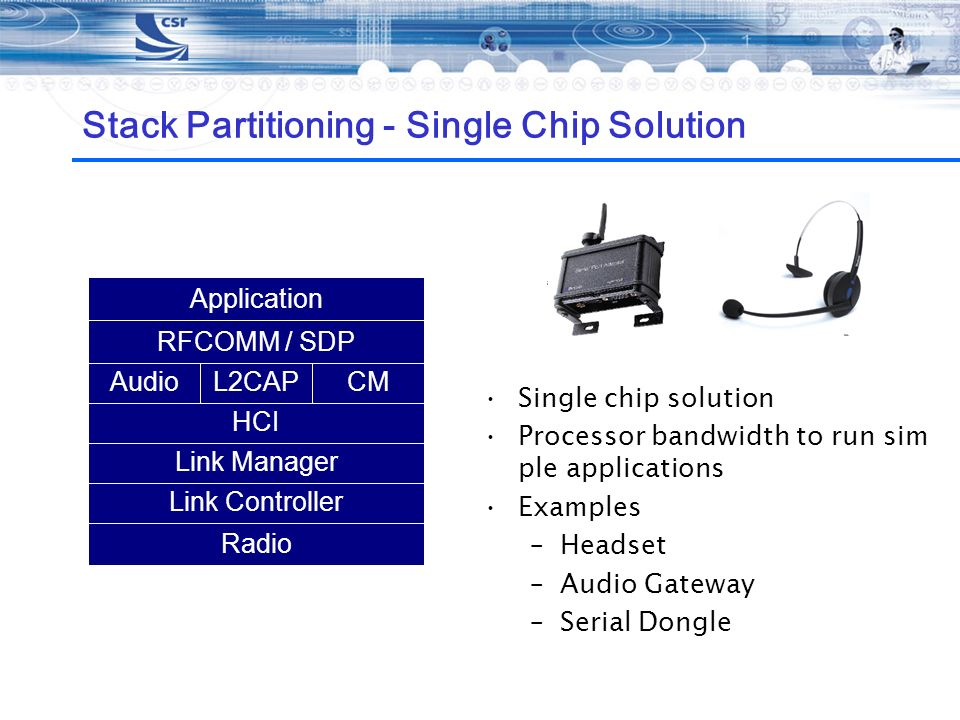 Stack Partitioning - Single Chip Solution