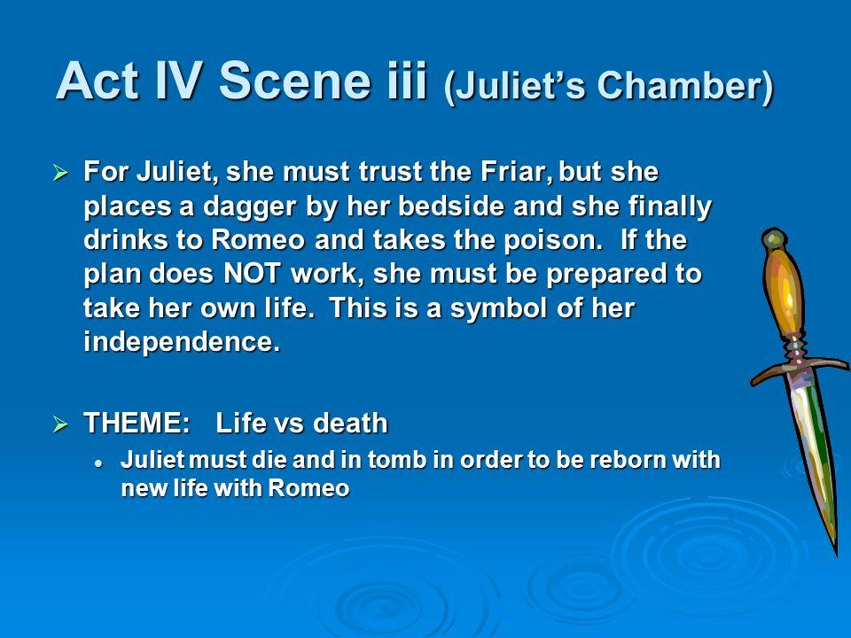 Act IV Scene iii (Juliet's Chamber)