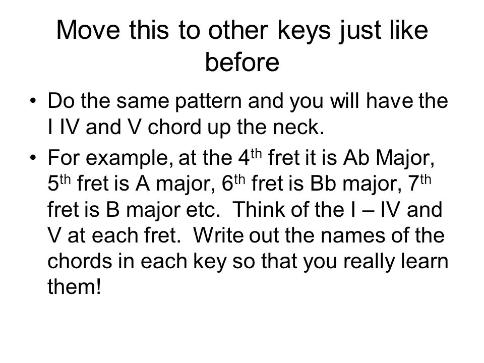 Move this to other keys just like before