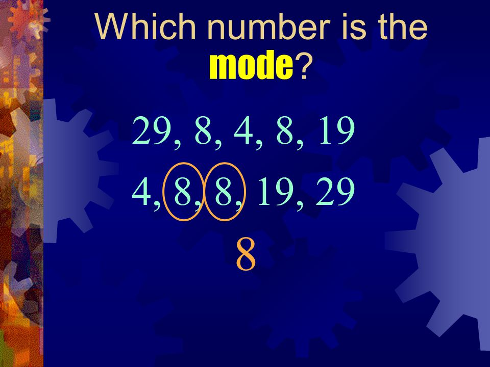 Which number is the mode