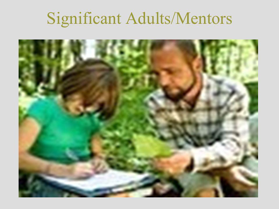 Significant Adults/Mentors