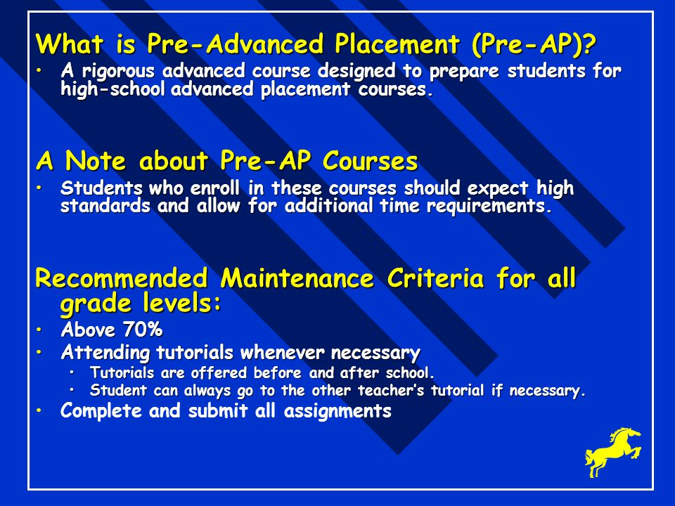 What is Pre-Advanced Placement (Pre-AP)
