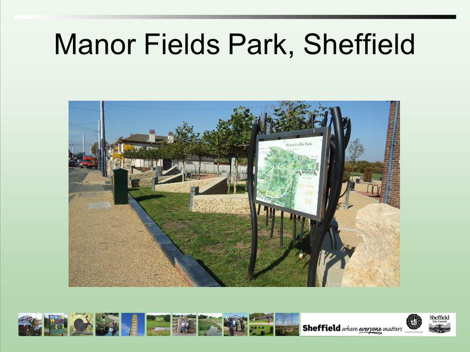 Manor Fields Park, Sheffield