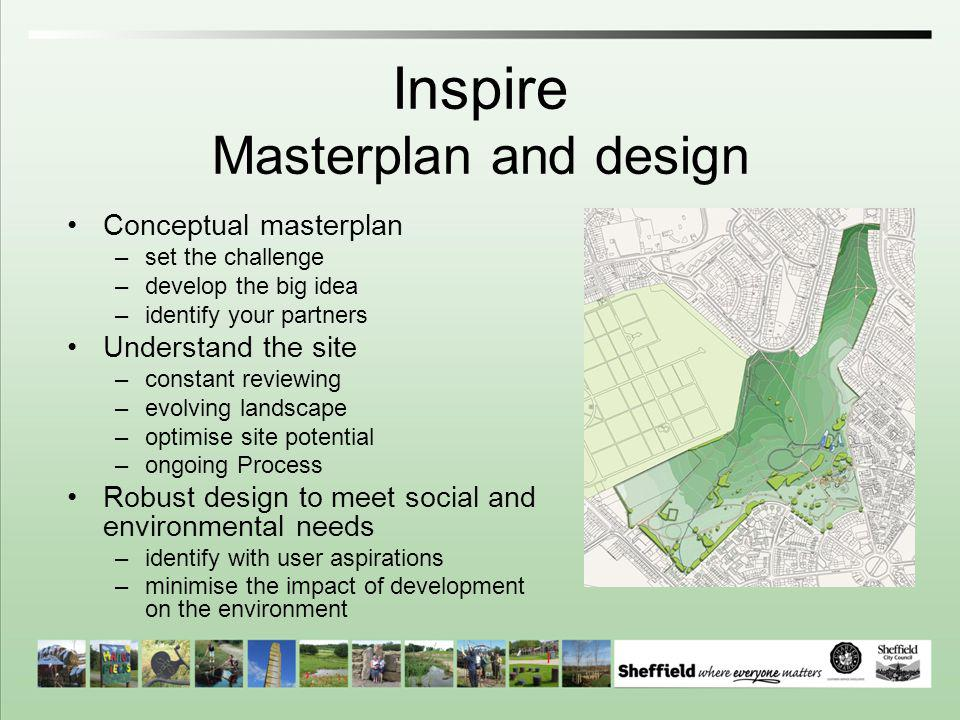 Inspire Masterplan and design