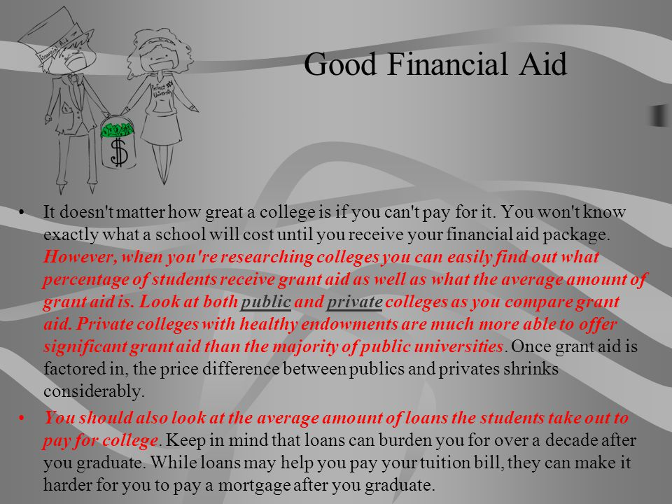 Good Financial Aid