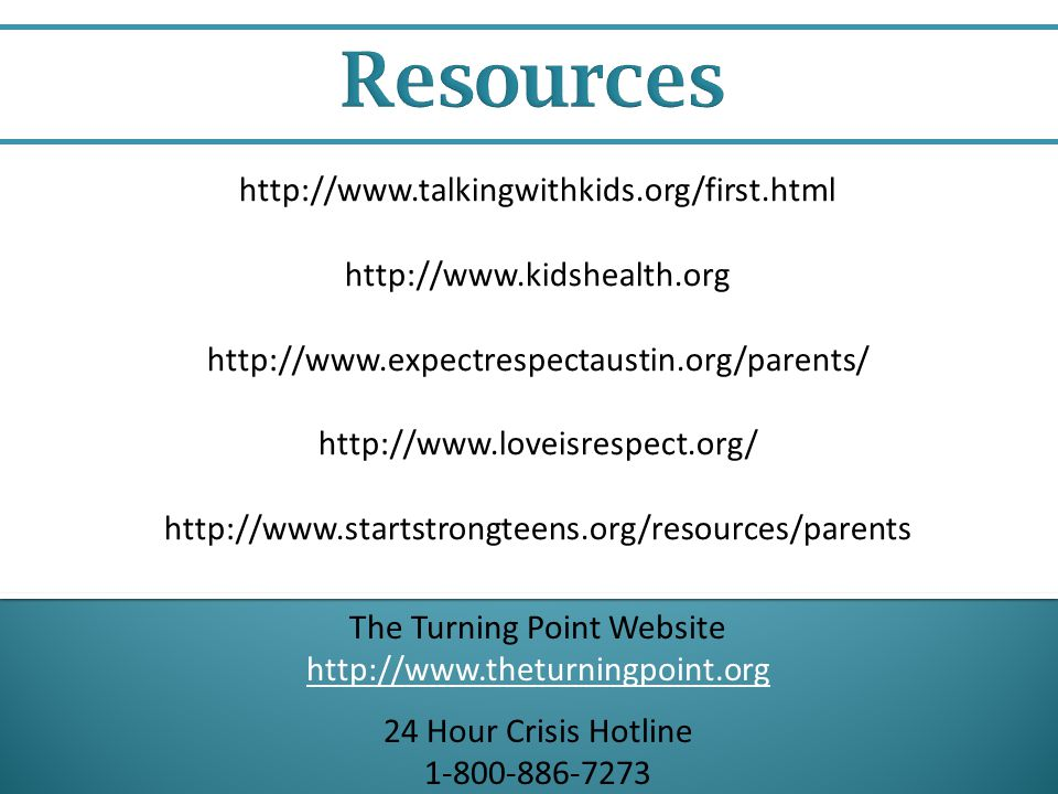 The Turning Point Website