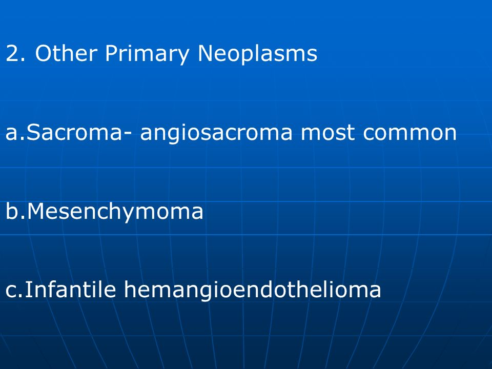 2. Other Primary Neoplasms