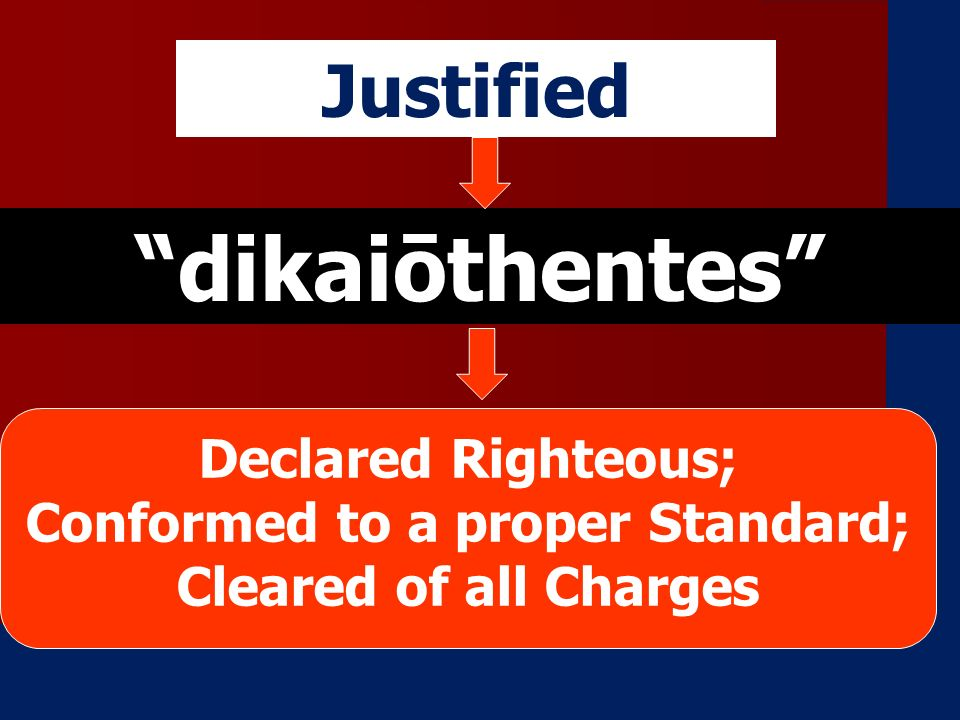 Conformed to a proper Standard; Cleared of all Charges