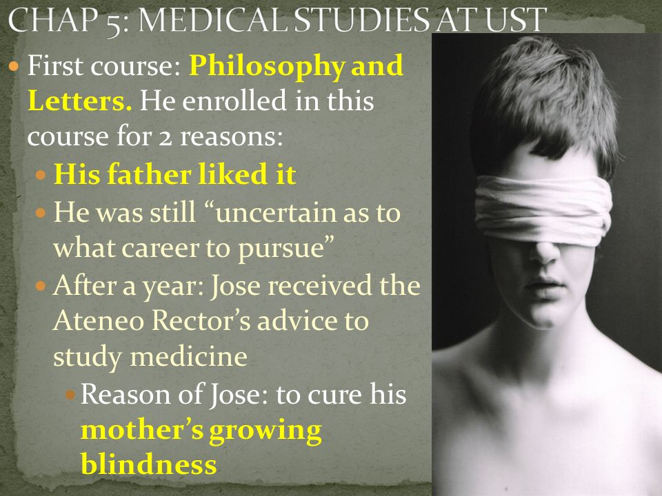 CHAP 5: MEDICAL STUDIES AT UST