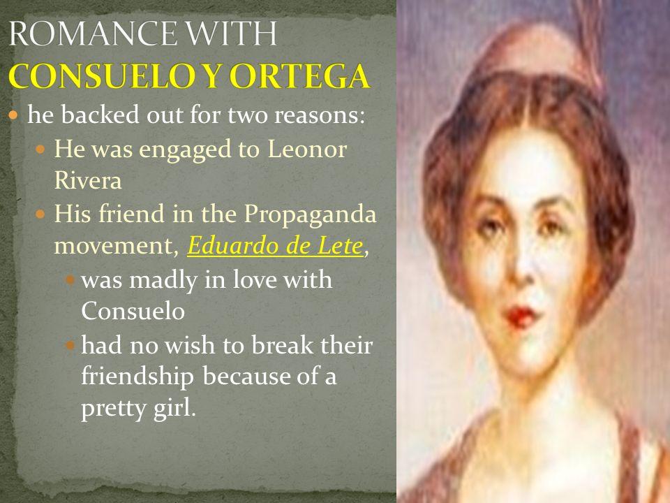 ROMANCE WITH CONSUELO Y ORTEGA