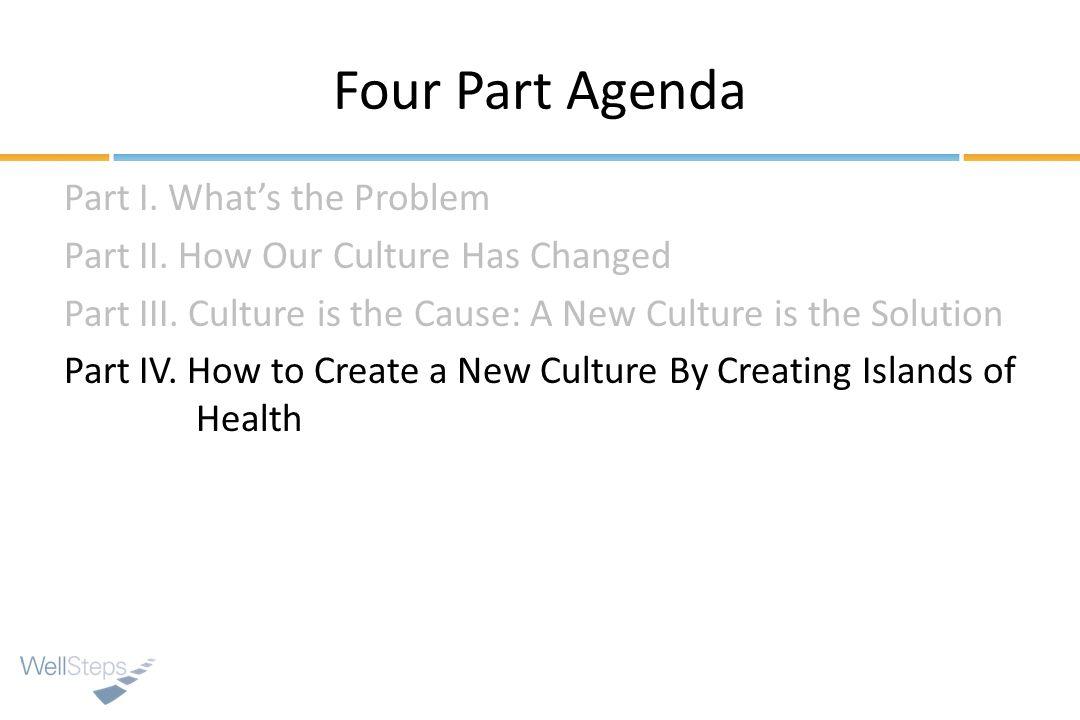 Four Part Agenda