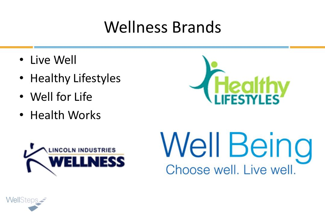 Wellness Brands Live Well Healthy Lifestyles Well for Life