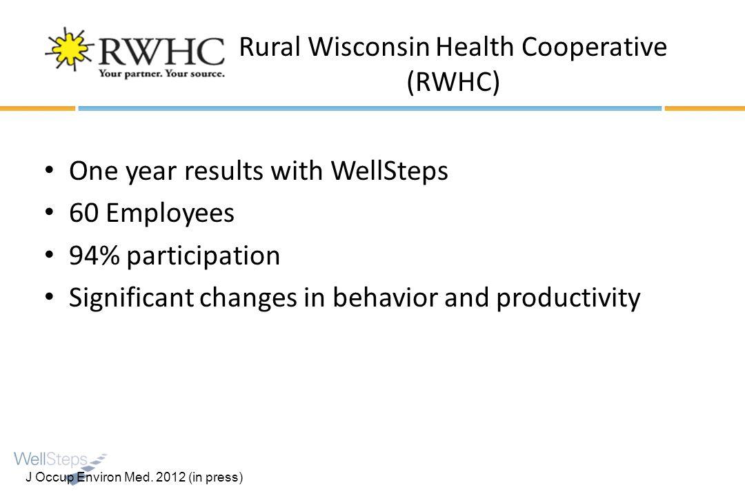 Rural Wisconsin Health Cooperative (RWHC)