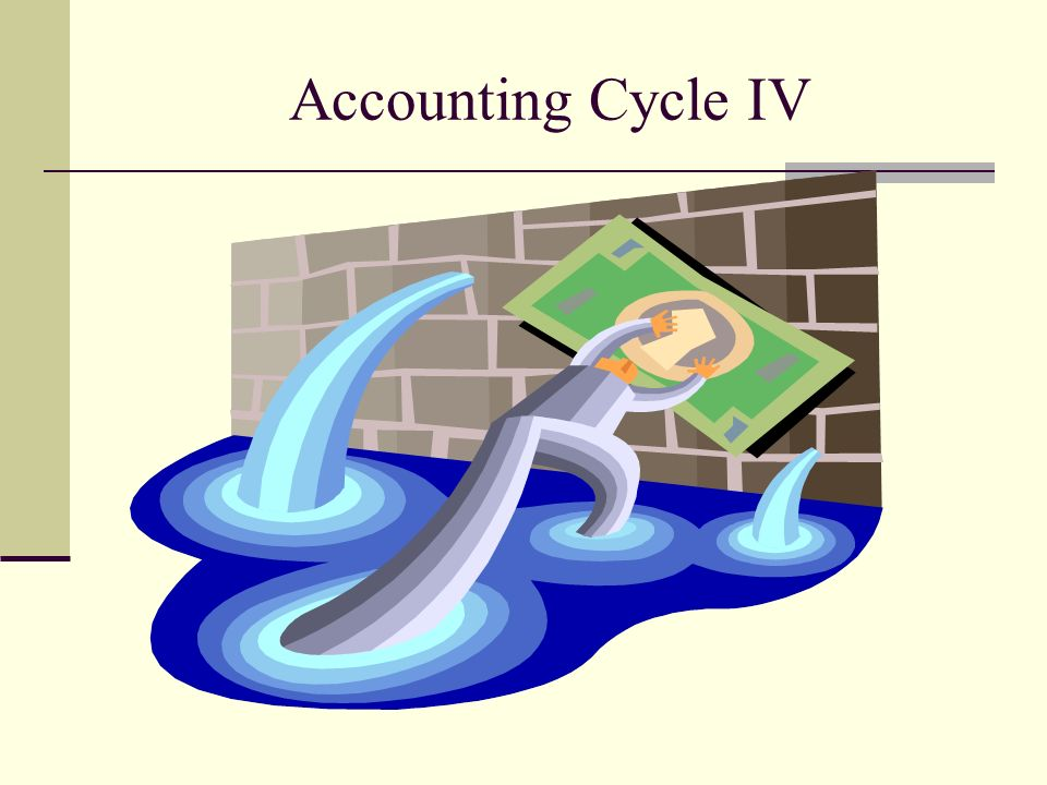 Accounting Cycle IV
