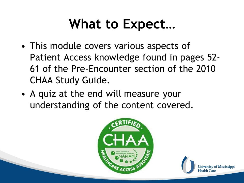 National Association of Healthcare Access Management