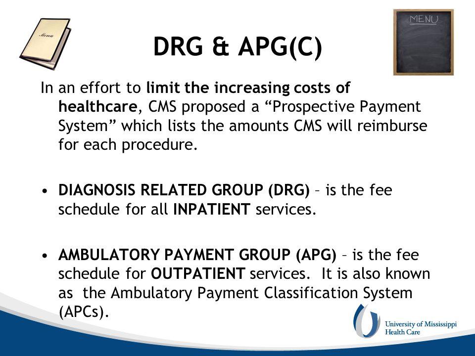 DRG & APG(C)