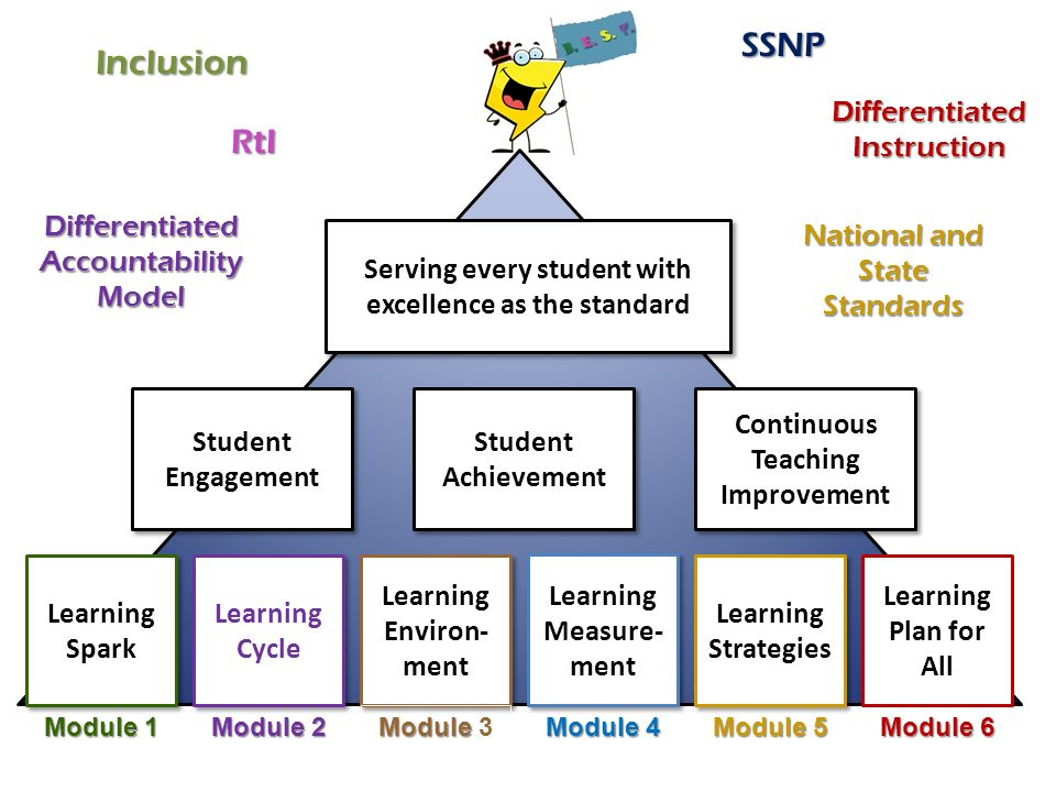 SSNP Inclusion RtI Differentiated Instruction