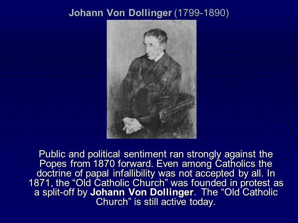 Johann Von Dollinger (1799-1890)