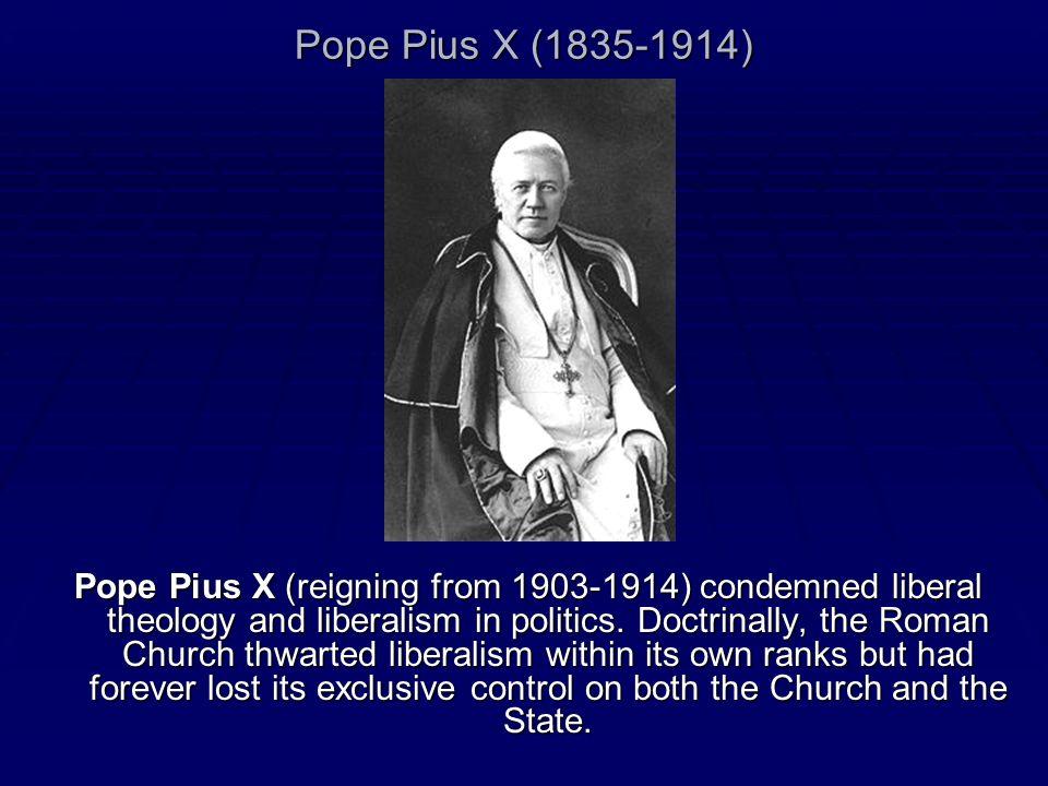 Pope Pius X (1835-1914)