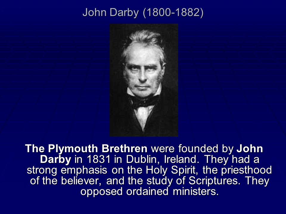 John Darby (1800-1882)