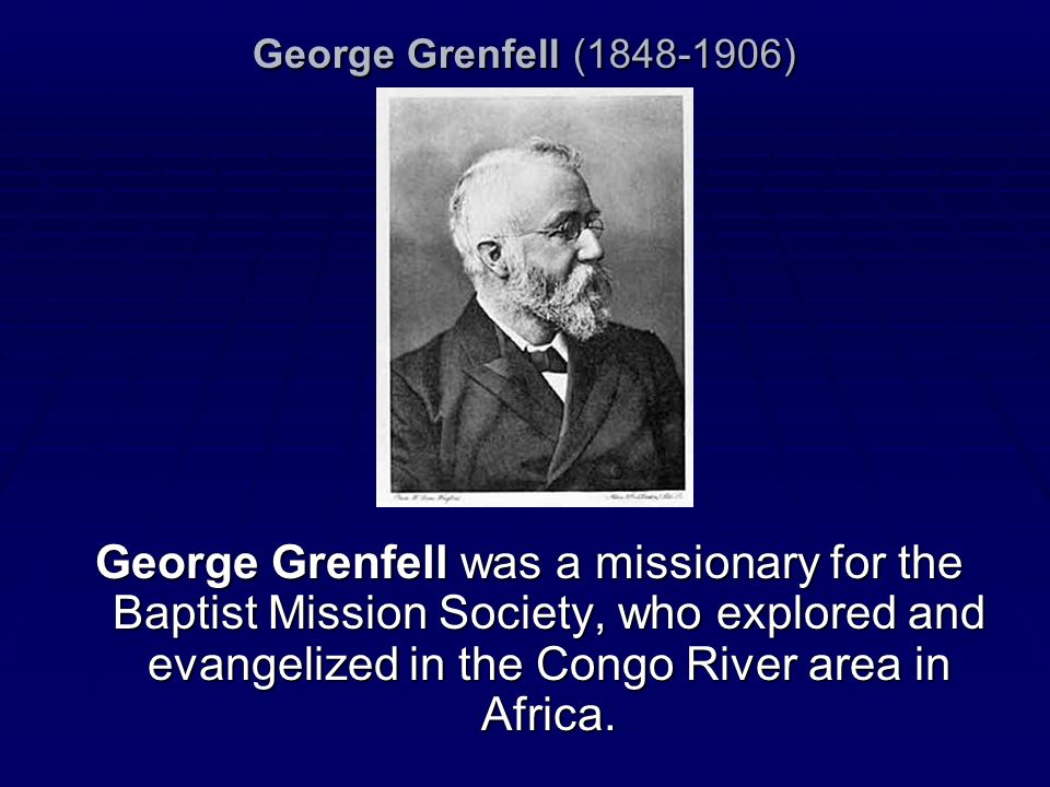 George Grenfell (1848-1906)