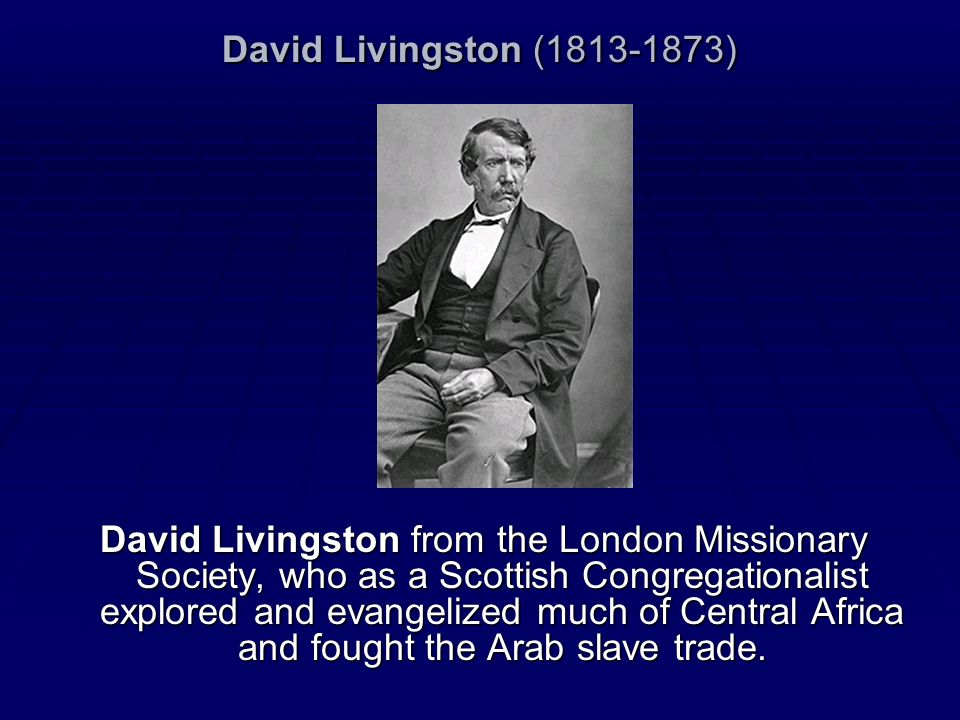 David Livingston (1813-1873)