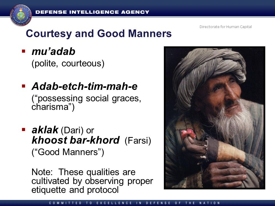 Courtesy and Good Manners