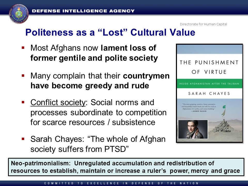Politeness as a Lost Cultural Value