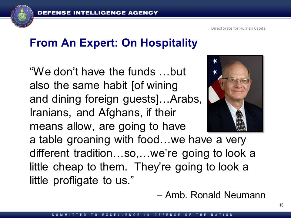 From An Expert: On Hospitality