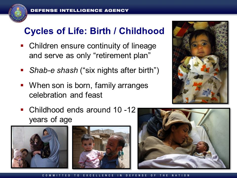 Cycles of Life: Birth / Childhood