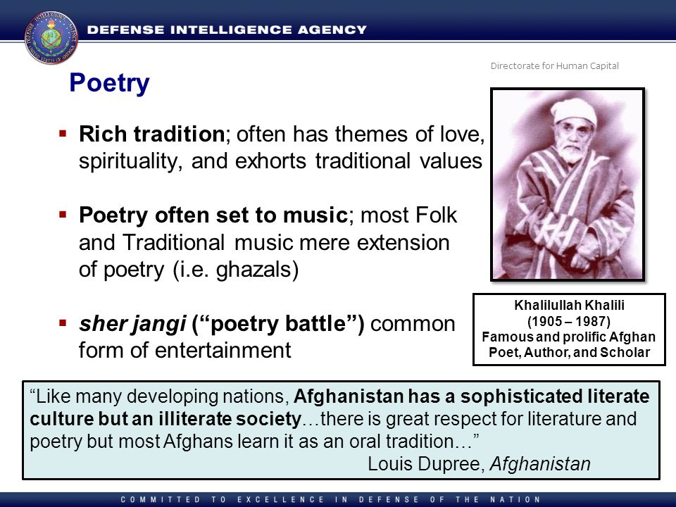 Famous and prolific Afghan Poet, Author, and Scholar