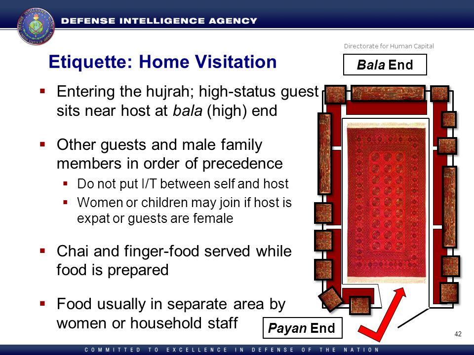 Etiquette: Home Visitation