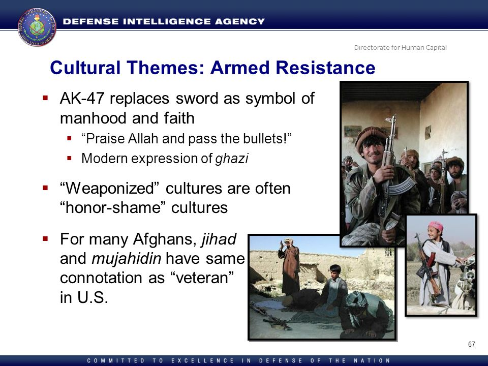 Cultural Themes: Armed Resistance