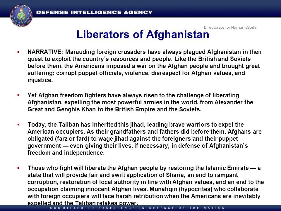 Liberators of Afghanistan