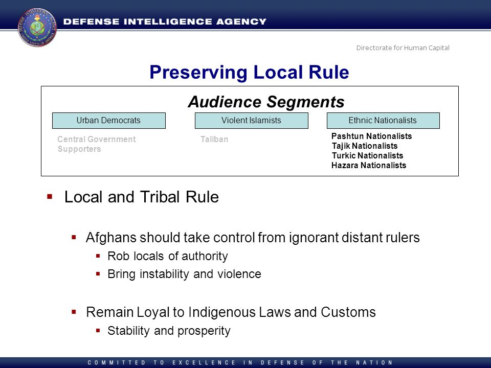 Preserving Local Rule Audience Segments Local and Tribal Rule