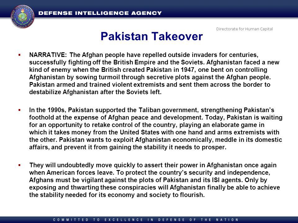 Pakistan Takeover