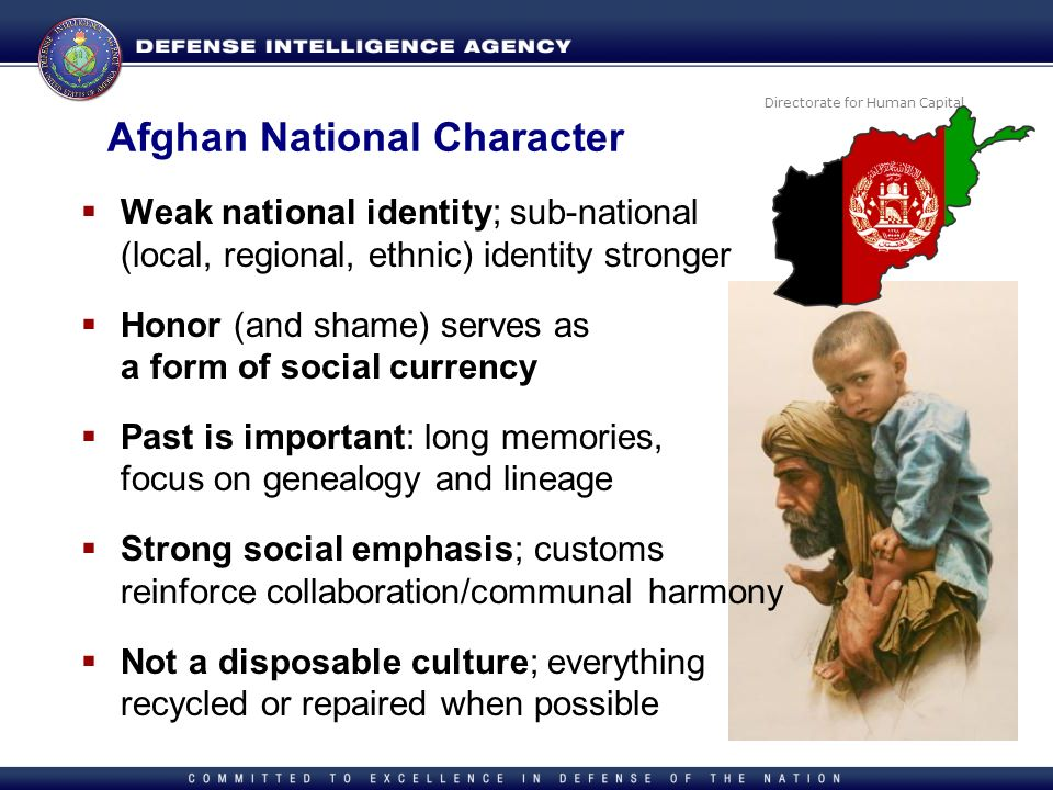 Afghan National Character