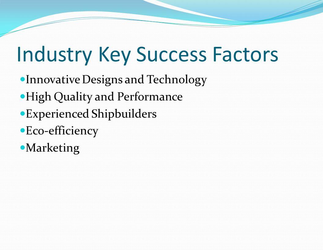 Industry Key Success Factors